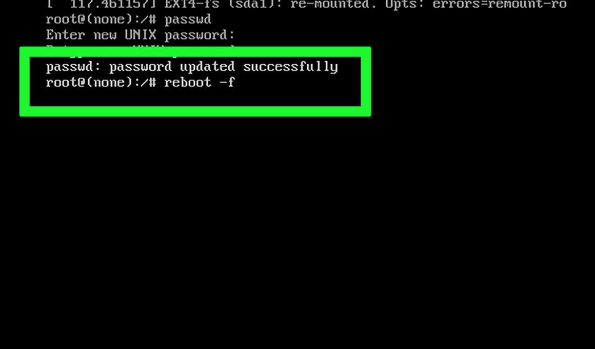Linux Change Password